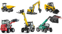 Compact construction machines